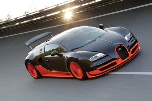 1. Bugatti Veyron Supersport: