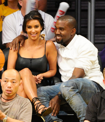 Image result for Kim Kardashian na Kanye West